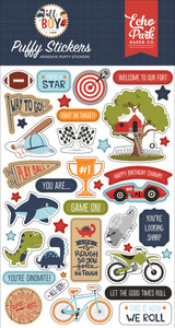 All Boy: Puffy Stickers