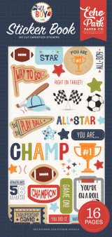 All Boy: Sticker Book