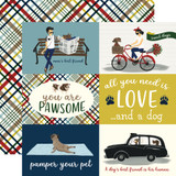 A Dog's Tail: 4x6 Journaling Cards 12x12 Patterned Paper