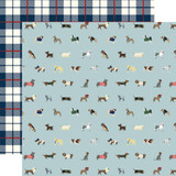 A Dog's Tail: Ruff Life 12x12 Patterned Paper