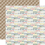 A Dog's Tail: Woof Words 12x12 Patterned Paper