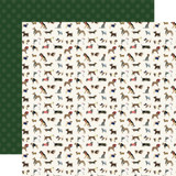 A Dog's Tail: Furry Friends 12x12 Patterned Paper