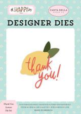 Oh Happy Day: Thank You Lemon Die Set