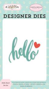 Oh Happy Day: Hello Heart Die Set