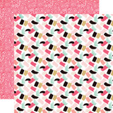 Fashionista: Paint the Town 12x12 Patterned Paper
