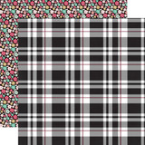 Fashionista: Playful Plaid 12x12 Patterned Paper