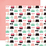 Fashionista: Retail Therapy 12x12 Patterned Paper