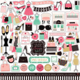 Fashionista: Element Sticker Sheet
