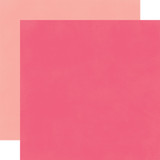 Fashionista: Dark Pink/Light Pink 12x12 Solid Paper