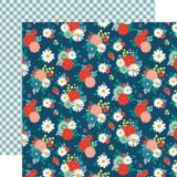 Good Day Sunshine: Festive Floral 12x12 Patterned Paper