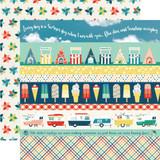Good Day Sunshine: Border Strips 12x12 Patterned Paper