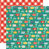 Good Day Sunshine: Summer Picnic 12x12 Patterned Paper