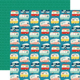 Good Day Sunshine: Happy Camper 12x12 Patterned Paper