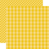 Dots & Stripes Gingham: Starfish 12x12 Patterned Paper