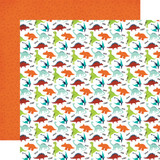 Imagine That Boy: Dino Friends 12x12 Patterned Paper