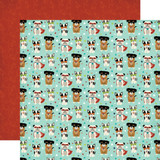 Imagine That Boy: Super Dogs 12x12 Patterned Paper