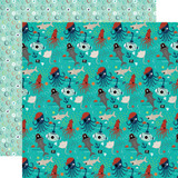 Imagine That Boy: Fish Friends 12x12 Patterned Paper