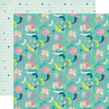 Imagine That Girl: Merry Mermaids 12x12 Patterned Paper
