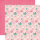 Imagine That Girl: Tea Time 12x12 Patterned Paper