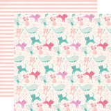 Imagine That Girl: Bubble Trouble 12x12 Patterned Paper