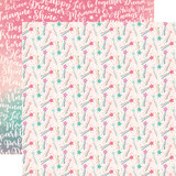 Imagine That Girl: Magic Wands 12x12 Patterned Paper