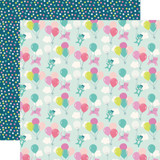 Imagine That Girl: High in the Sky 12x12 Patterned Paper