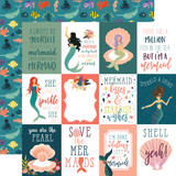 Mermaid Tales: 3x4 Journaling Cards 12x12 Patterned Paper
