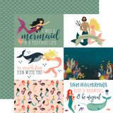 Mermaid Tales: 4x6 Journaling Cards 12x12 Patterned Paper