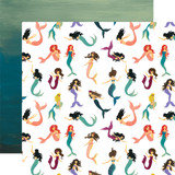Mermaid Tales: Magical Mermaids 12x12 Patterned Paper