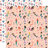 Mermaid Tales: Mermaid Paradise 12x12 Patterned Paper