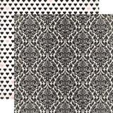 Wedding Bliss: Darling Damask 12x12 Patterned Paper