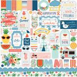 Summertime: Element Sticker