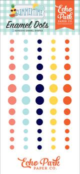 Summertime: Enamel Dots