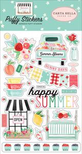 Summer Market: Puffy Stickers