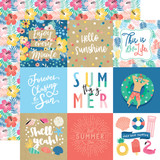 Dive Into Summer: 4X4 Journaling Cards
