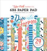 Dive Into Summer: 6x6 Paper Pad