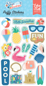 Dive Into Summer: Puffy Stickers