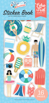 Dive Into Summer: Sticker Book