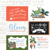 Plant Lady: 6X4 Journaling Cards