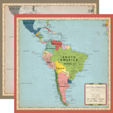 Cartography No. 2: South America Map