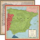 Cartography No. 2: Spain Map