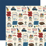 Scenic Route: Wander 12x12 Patterned Paper