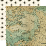 Scenic Route: Top Of The World 12x12 Patterned Paper