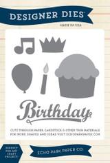Happy Birthday Die Set