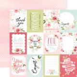 Flora No. 3: Subtle Journaling Cards 12x12 Patterned Paper