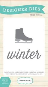Ice Skate Winter Die Set