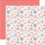 America: Celebrate Fireworks 12x12 Patterned Paper