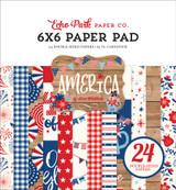 America: 6x6 Paper Pad