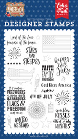 America: Stars & Stripes Stamp Set