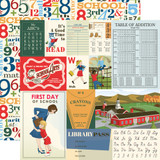 School Days: Multi Journaling Cards 12x12 Patterned Paper